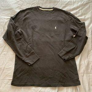 Polo by Ralph Lauren Sleepwear Waffle Long Sleeve